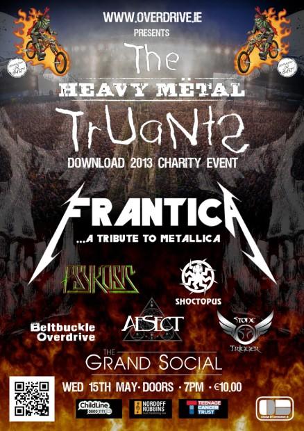Heavy Metal Truants web