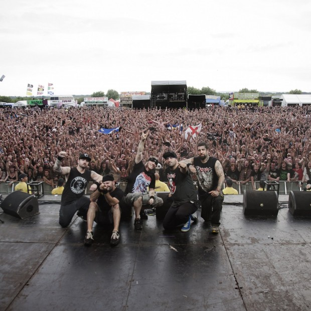 Hatebreed crowd shot