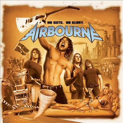 Airbourne Album covers