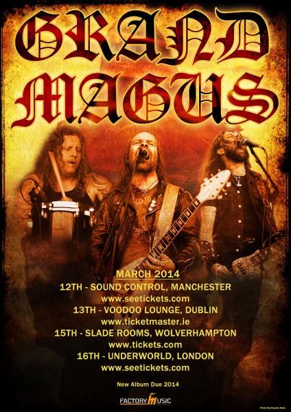 Grand magus tour 2014