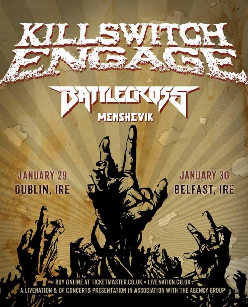Killswitch Engage Dublin