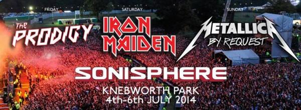 Sonisphere 2014 banner