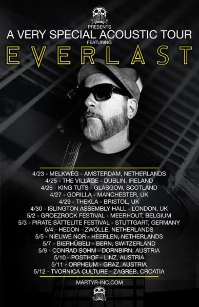 EVERLAST FULL TOUR POSTER