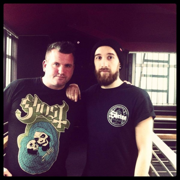 Josh Middleton of Sylosis with Overdrive