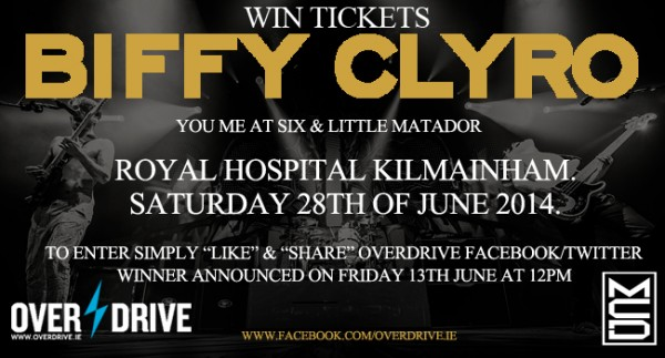 Biffy Clyro Competition copy