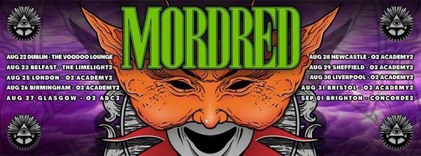 Mordred Tour Banner