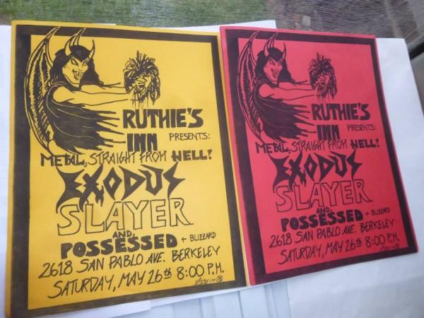 Ruthie's Inn Flyers