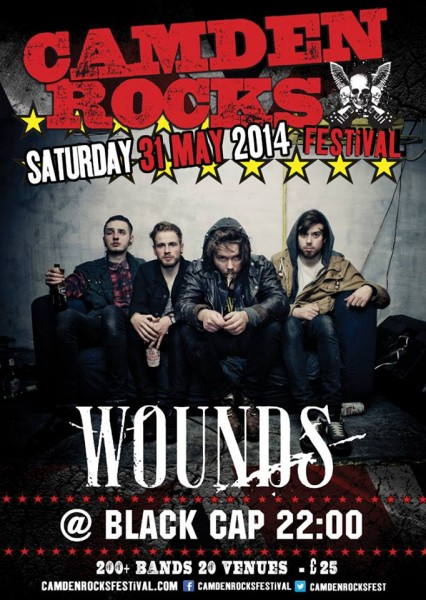 Wounds Camden Rocks