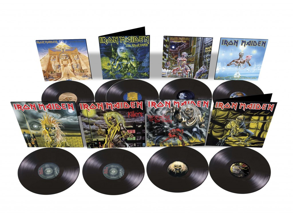 Iron Maiden 8lp product shot