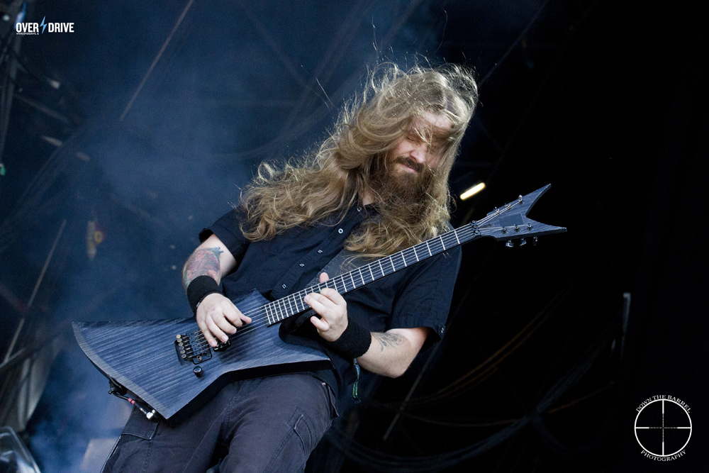 "Waclaw ""Vogg"" Kieltyka shredding the shit out of Bloodstock 2014."