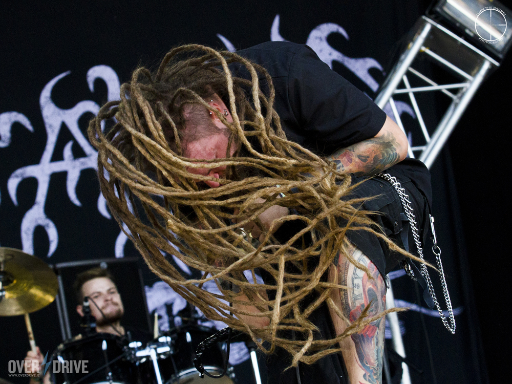 Rafał Piotrowski of Decapitated - Bloodstock 2014