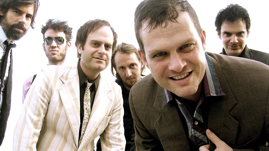 Electric Six goup shot