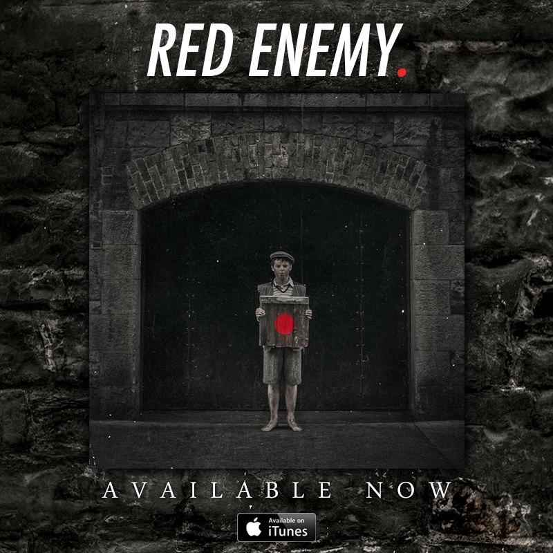 Red Ememy debut Album artwork