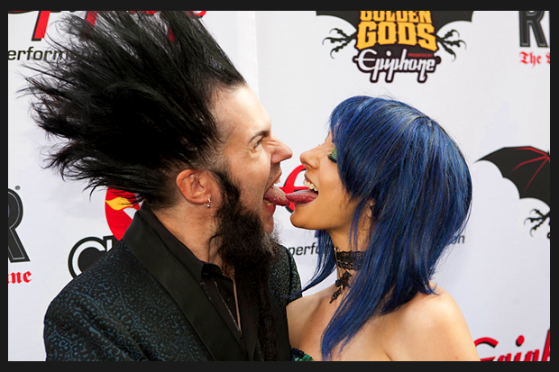 Wayne Static & Wife