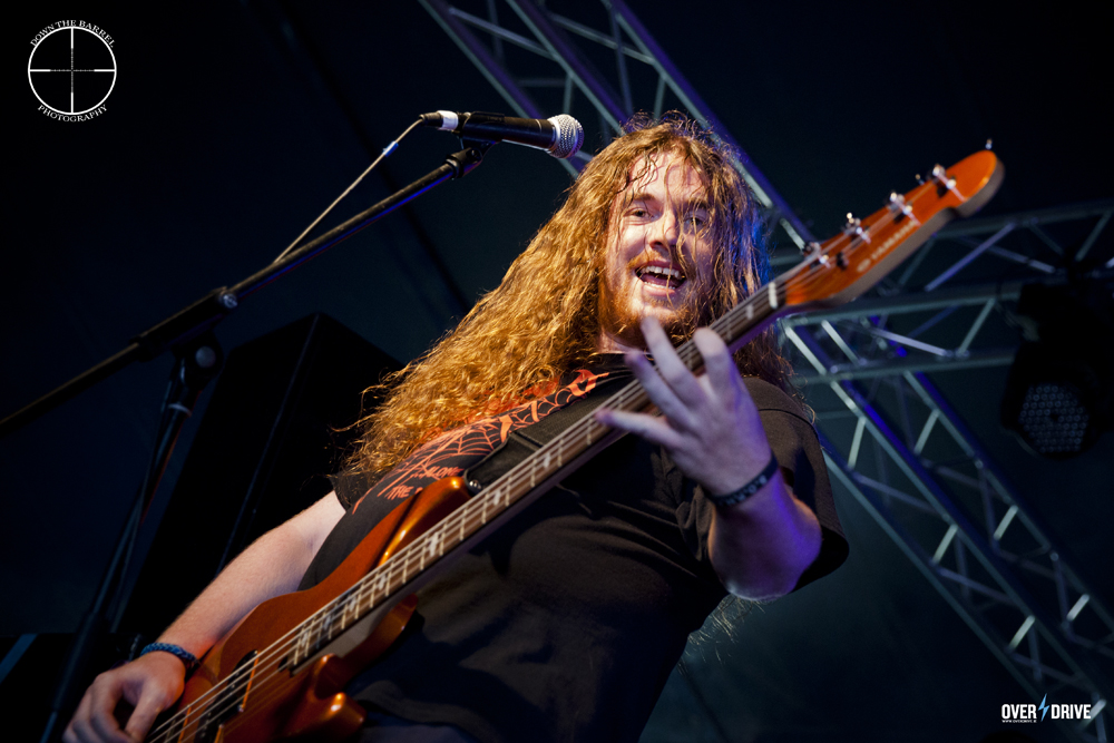 Psykosis bassist Jay Shaw - Bloodstock 2014