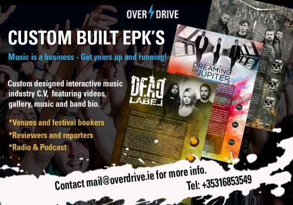 Present your music / venue / talent with our custom designed electronic press kits.