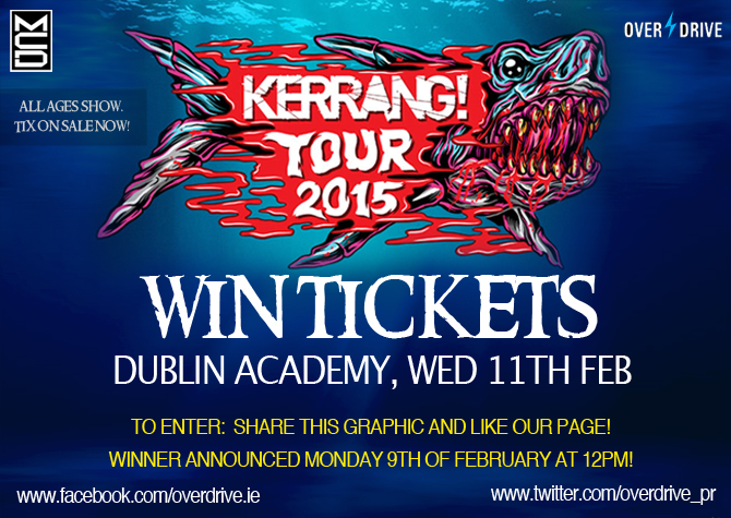 KERRANG! TOUR 2015 COMP