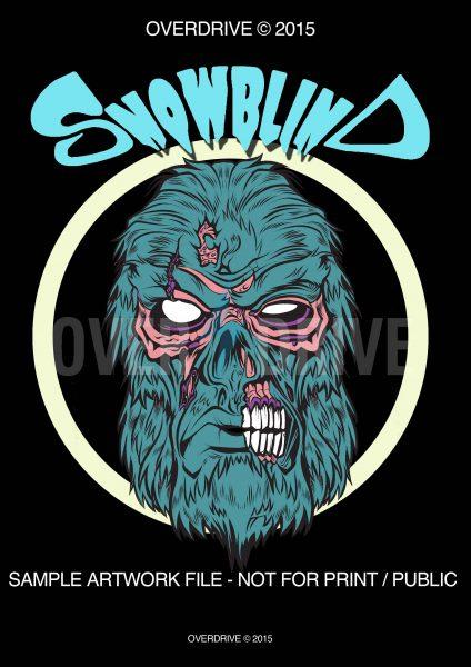 SNOWBLIND T-SHIRT DESIGN V_1(low res) © Overdrive Mock Sample copy