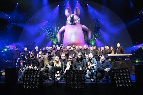 The Australian Pink Floyd crew