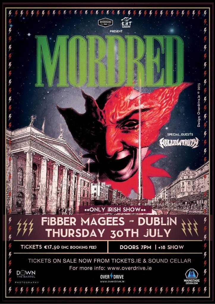 Mordred dublin poster