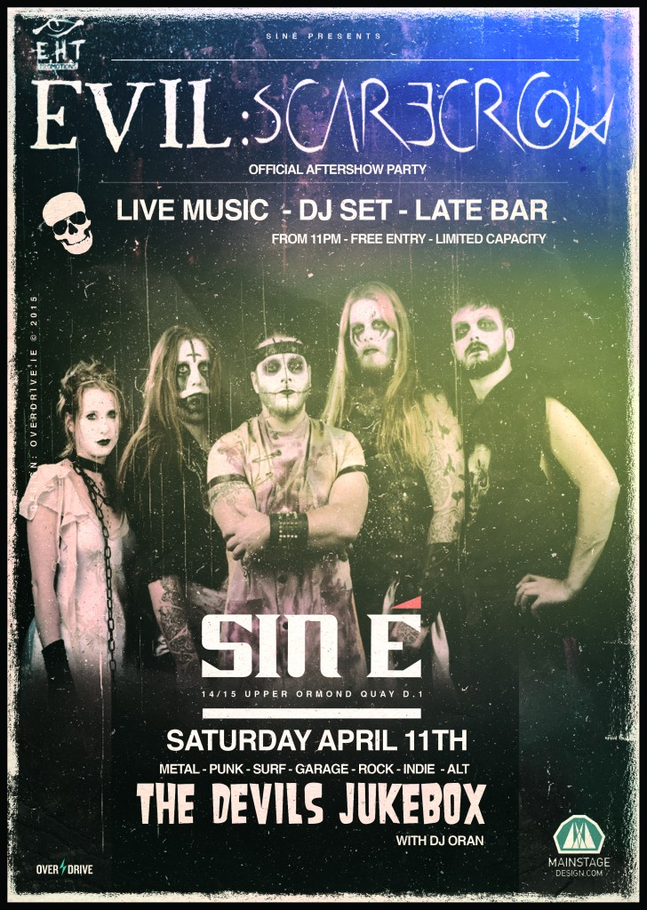 EVIL SCARECROW AFTERSHOW PARTY