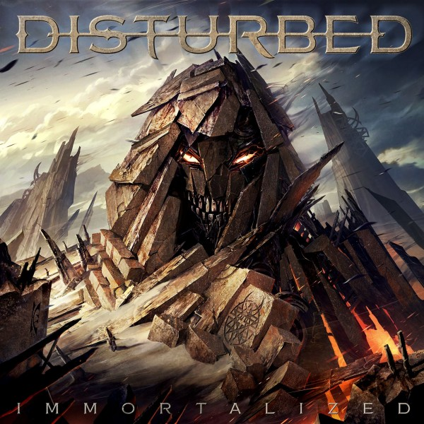 Disturbed Immortalized packshot