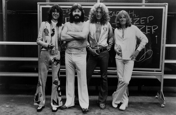 Led Zeppelin 1977 photo credit Atlantic Records