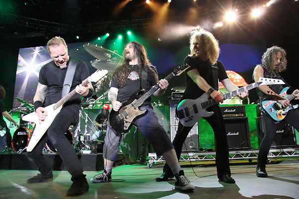 Andreas with metallica