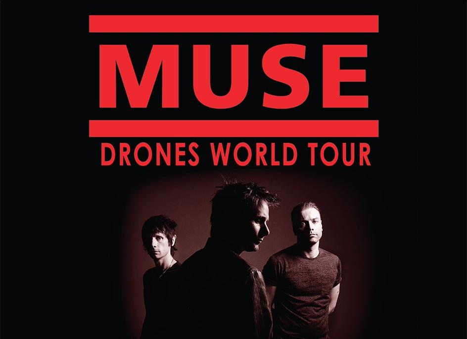 MUSE drones-world-tour