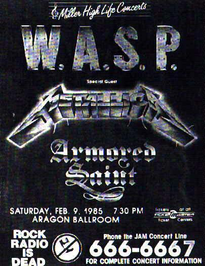 Wasp Show '85