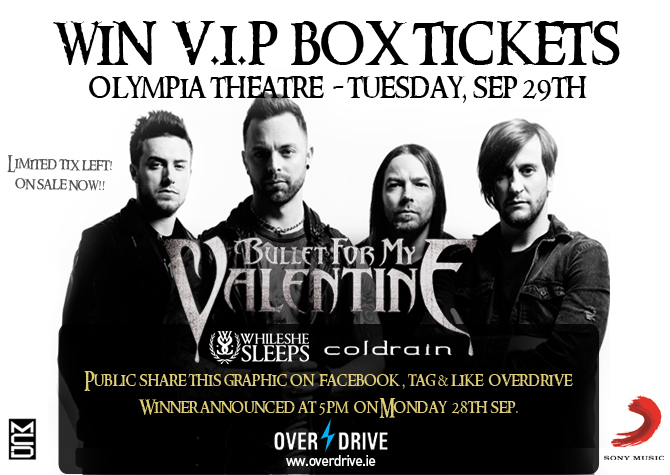 bullet for my valentine vip comp