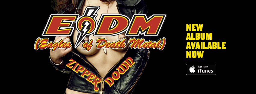Eagles of Death metal sales banner