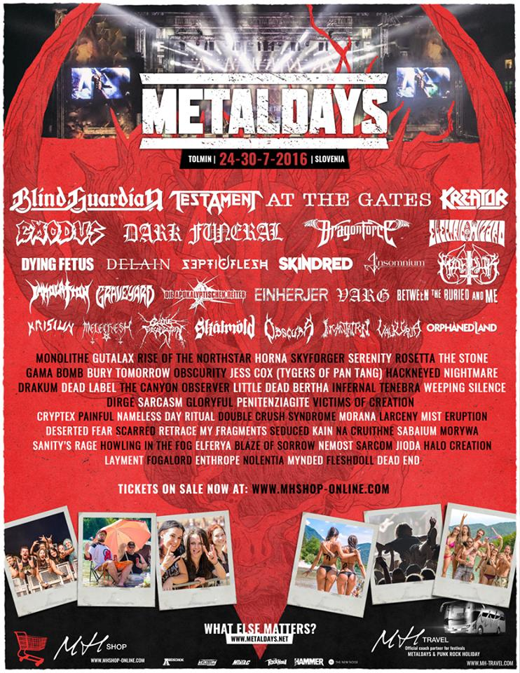 METAL DAYS DEAD LABEL