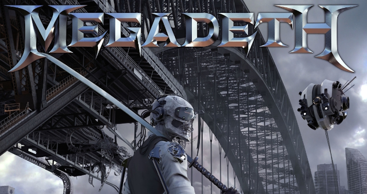 Megadeth Album Covers Overdrive goes through...