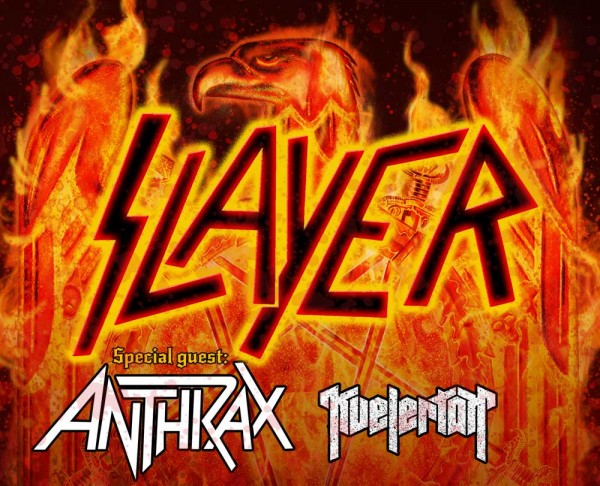 Anthrax slayer tour