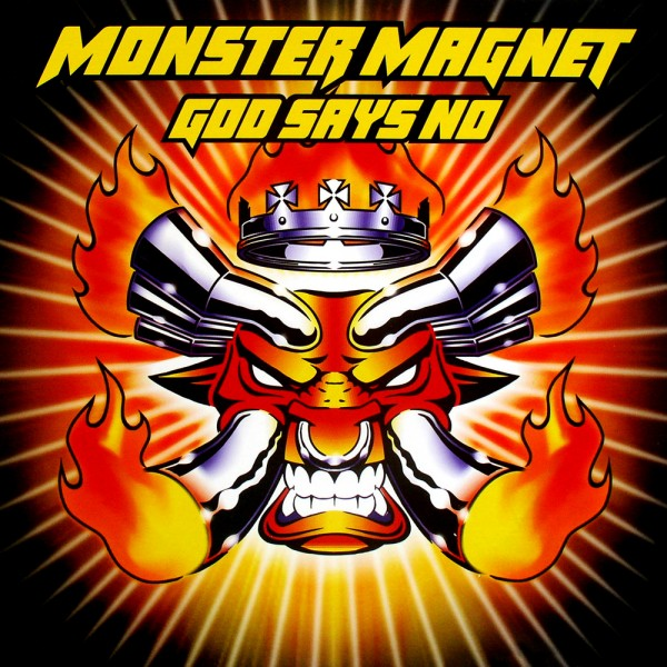 Monster Magnet God Says No flat front