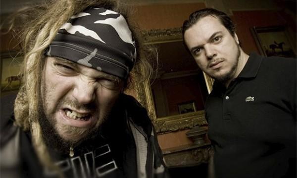Max and Igor Cavalera, musicians