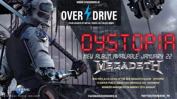 PROMO : COMP MEGADETH ALBUM 2016