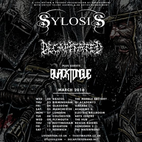 decapitated tour