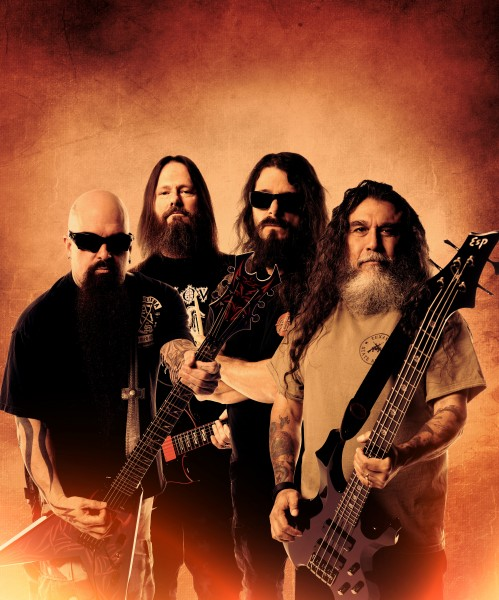 SLAYER PRESS PHOTO WINTER