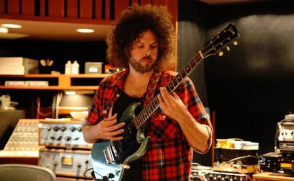WOLFMOTHER ANDREW STOCKDALE IN STUDIO