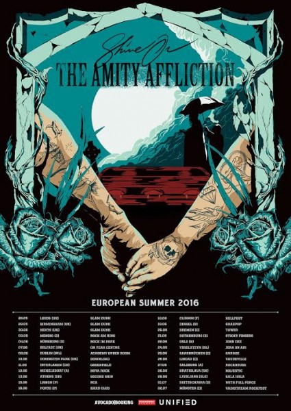 AMITY AFFICTION TOUR POSTER
