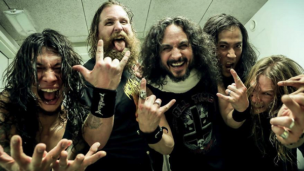 DEATH ANGEL POST SHOW SHOT