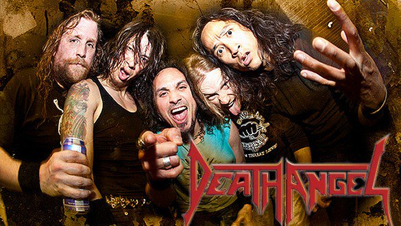 DEATH ANGEL PROMO WITH LOGO