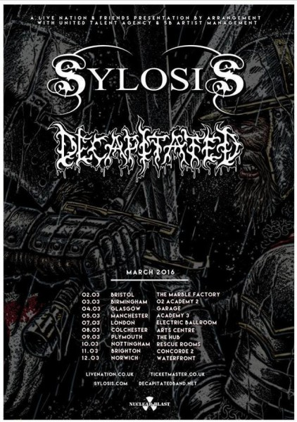 Sylosic _ Decapitated tour
