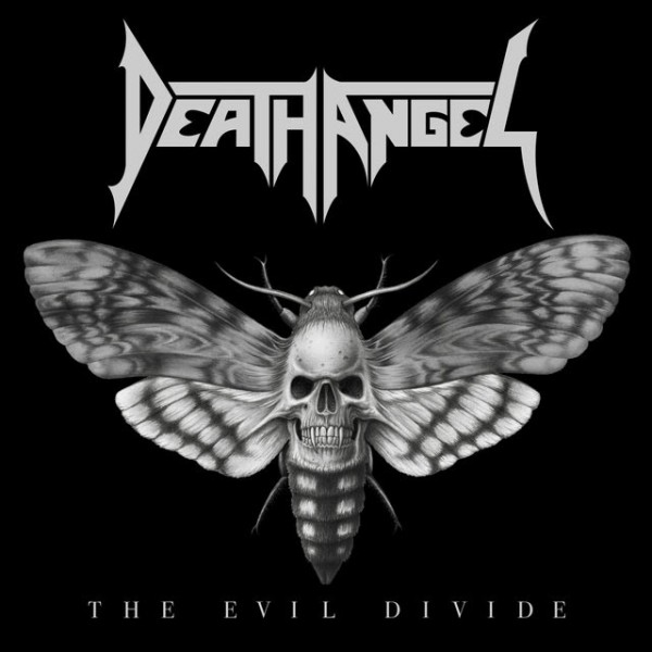 DEATH ANGEL 'THE EVIL DIVIDE' ALBUM COVER