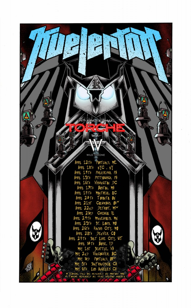 KVELERTAK TOUR 2016
