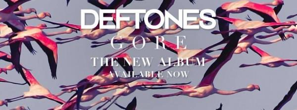 Deftones GORE banner