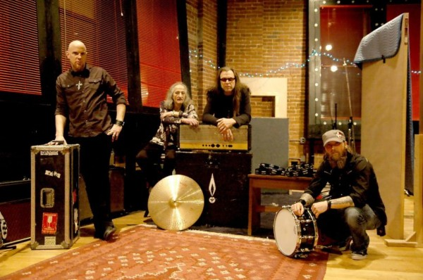 Pentagram in studio