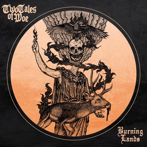 TWO TALES OF WOE 'BURNING LANDS' ARTWORK